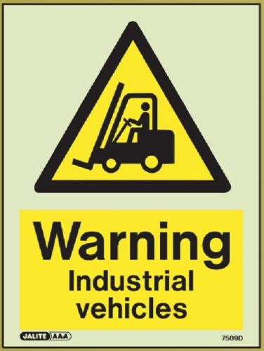 (7509D) Jalite Warning Industrial vehicles